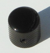 Tele knob Dome black