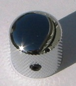 Tele knob Dome chrome