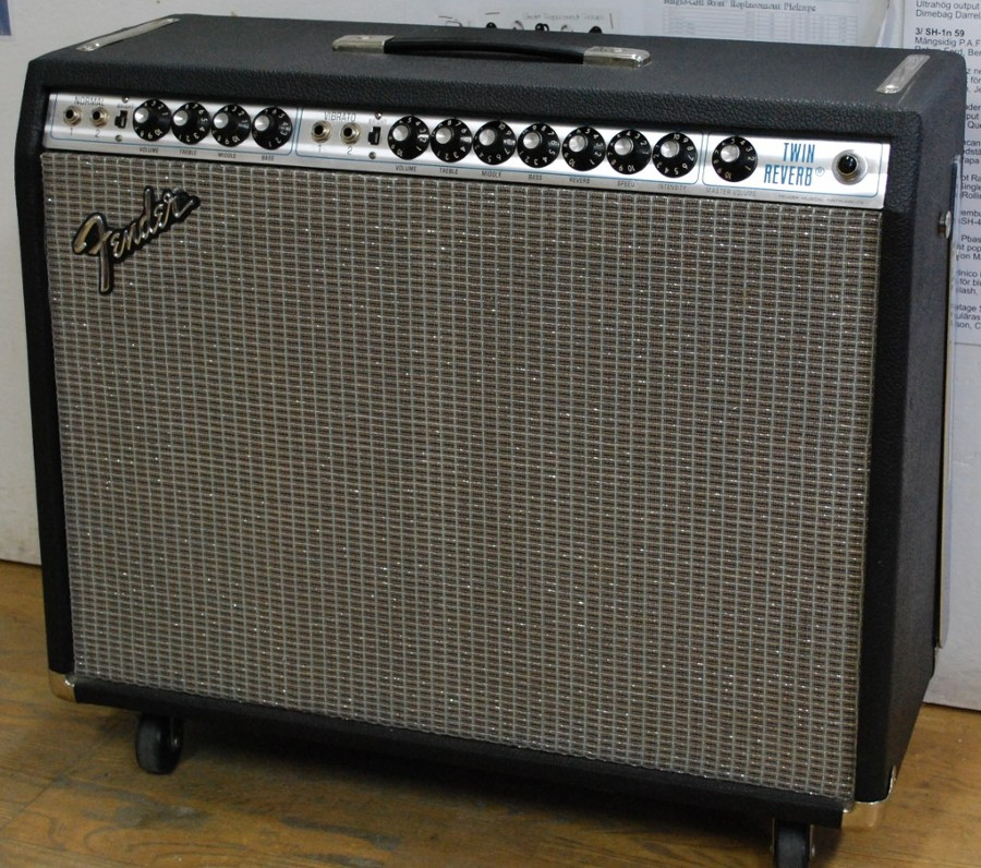 Fender Twin Reverb Silverface 1976
