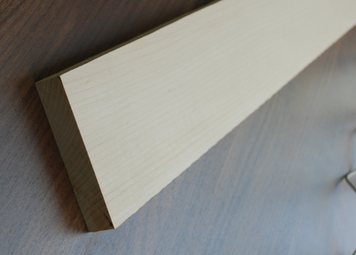 Neck blank maple A-Grade