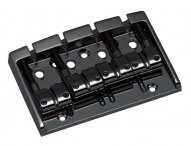 Gotoh 404BO 4-string bass bridge Cosmo Black