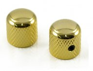 Tele Dome knobs USA 1/4 set of 2 Gold