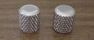 Callaham Early 50's Broadcaster Dome Heavy Knurled Knobs