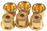 KLUSON REPLACEMENT STRING FERRULES FOR FENDER TELECASTER GOLD