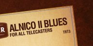 Tonerider Alnico II Blues Tele Set Nickel