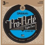 D'Addario Classic Hard tension 3-Pack