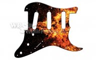 Pickguard USA Wild Fire 3PLY SSS
