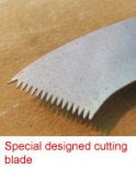 Fret Slot Cleaning Saw