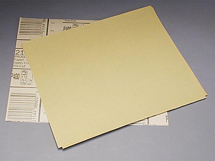 3M Gold Fre-Cut Sandpaper