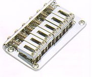 HT Bridge solid sadles Chrome Strings-thru