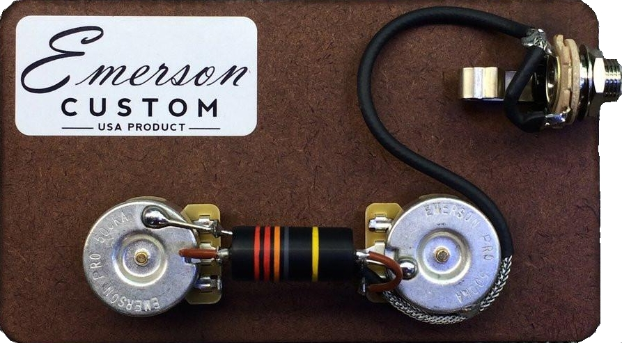 Emerson LES PAUL JUNIOR PREWIRED KIT BUMBLEBEE