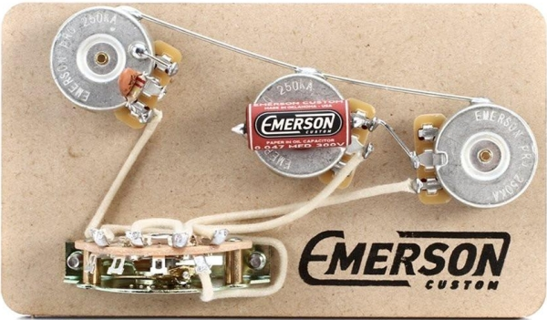 Emerson 5-WAY STRAT PREWIRED KIT