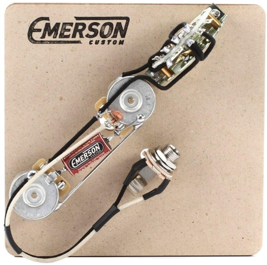 Emerson 3-WAY TELECASTER PREWIRED KIT