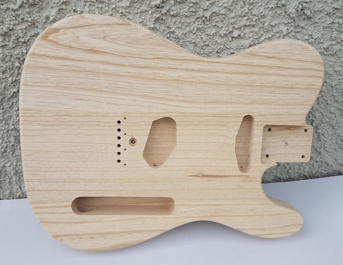 Hosco T-model body Swamp Ash Unfinished CNC Medium weight