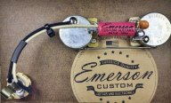 Emerson P-BASS PREWIRED KIT