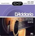 D'Addario Akustisk Coated 011-052