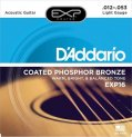 D'Addario Akustisk Coated 012-053 Phosphor Bronze