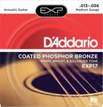 D'Addario Akustisk Coated 013-056 Phosphor Bronze