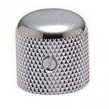 Tele Dome knob Chrome 1/4